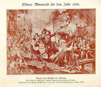 Qualified Auszug Zum Kampfe Am Iselberg Tirol Historischer Druck Von 1909 Latest Technology
