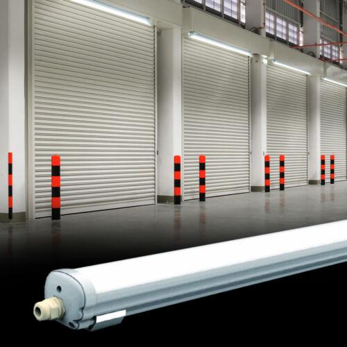 LED Lampe bacs plafonnier bureau feuchtraum ip65 cave garage atelier alu
