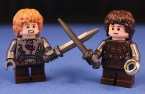 Lego-Herr-der-Ringe-Frodo-amp-Sam-als-Orks-100-Lego-Teile-Custom-Minifiguren