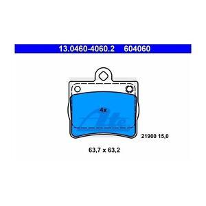 ATE Bremsbelagsatz Scheibenbremse 13.0460-4060.2 für MERCEDES KLASSE W202 hinten