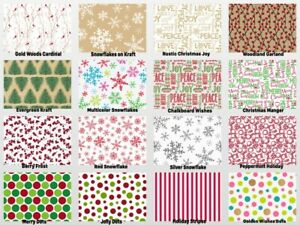 HOLIDAY-Print-Gift-Tissue-Paper-Sheets-15-034-x-20-034-Choose-Print-amp-Pack-Amount