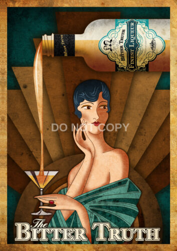 VINTAGE ART DECO BITTER TRUTH GERMAN MODERN A4 GLOSSY PHOTO POSTER PRINT #6