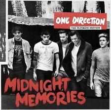 ONE DIRECTION - MIDNIGHT MEMORIES (GERMAN DELUXE EDITION) CD 18 TRACKS POP NEU