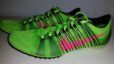 Nike Zoom Victory 2 Track Spikes Men's US 7.5 Electric Green 555365-306 NEW $120