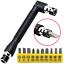 11Pcs-Socket-Wrench-Bit-Set-1-4-034-Drive-Garage-Car-Equipment-Repair-Tool-Kit-UK thumbnail 1