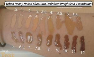 Urban Decay Naken Skin Weightless Foundation Sample In