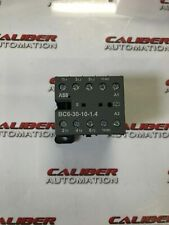 Abb Bc6 30 10 14 3 Pole Miniature Contactor Lot Of 2