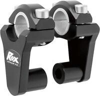 Rox Black Universal Elite 2 Inch Pivoting Risers For 7/8 & 1 1/8 Handlebars on sale