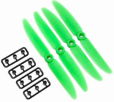 GEMFAN 5030 5x3 ABS PROPS MINI QUADCOPTER H COPTER BLACKOUT STORM 4 PAIRS GREEN
