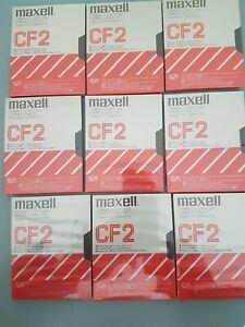 Lot de 9 disquettes MAXELL Amstard CPC 6128 CF-2 NEUVES  sous BLISTER