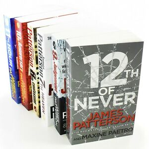 Women-Murderclub-Series-6-Books-7-12-Paperback-Collection-By-James-Patterson