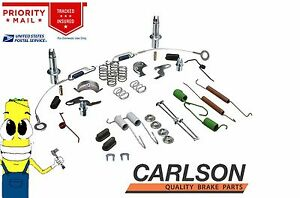 Complete Rear Brake Drum Hardware Kit for Chevy Nova 1985-1988 w// Rear Drums