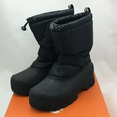New Northside Frosty Black  Snow Boots Size 3