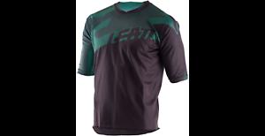 Leatt Short Sleeve Cycling Jersey DBX 3.0 Size Medium Black// Green