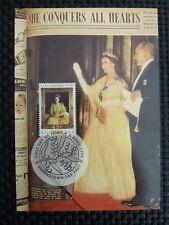 AUSTRALIA MK QUEEN ELIZABETH MAXIMUMKARTE CARTE MAXIMUM CARD MC CM a9741