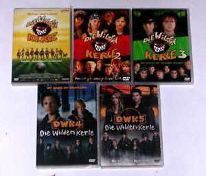 DVD-DIE-WILDEN-KERLE-1-5-DWK-1-2-3-4-5-Komplett-Deutsch