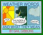 Weather Words and What They Mean by Gail Gibbons (Paperback / softback, 1990)