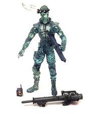 "Mcfarlane Juguetes de Metal Gear Solid Solid Snake Stealth 6"" Video Juego Figura Rara"
