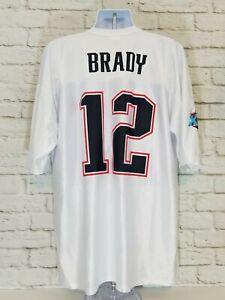 Details about NFL Tom Brady 2007 Conference Champions Jersey Men 2XL Super Bowl XLII Patriots