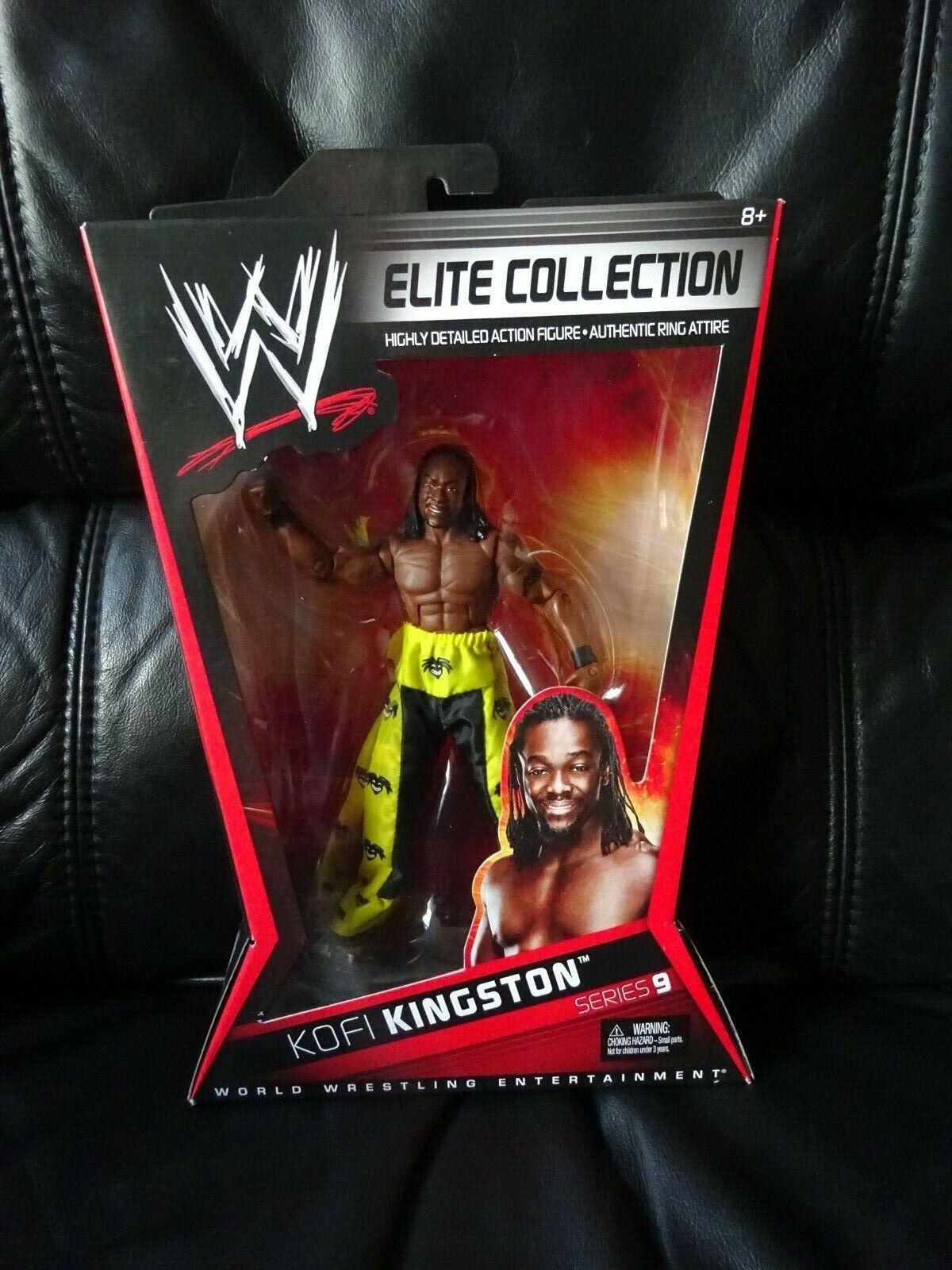 RARE WWE Kofi reston Elite  Collezione Serie 9 WRESTLING cifra NUOVO CON SCATOLA V1358   designer online
