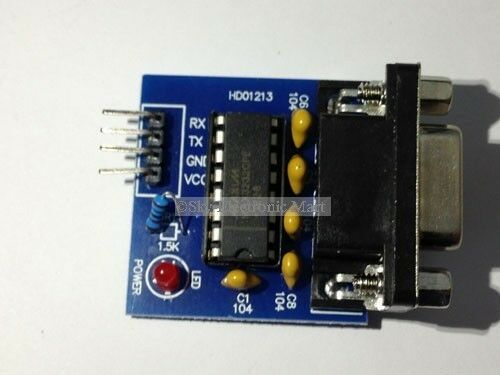 MAX232 RS232 To TTL Converter Adapter Module Board DIY New