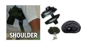 SHOULDER GUN HOLSTER  S /& W M/&P COMPACT TARGET  SECURITY  CAMO COLOR  202C