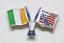 縮圖 8 - PIN'S Insignia FIFA WORLD CUP 1994 Estados Unidos MUNDIAL USA Banderas Futbol