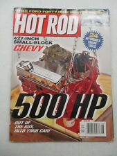 Hot Rod Magazine August 2001 Ford Forty Nine Poster 427 Inch Small Block Chevy