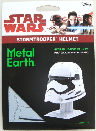 METAL EARTH STAR WARS 3D METAL MODEL KIT STORMTROOPER HELMET NEW /& SEALED!