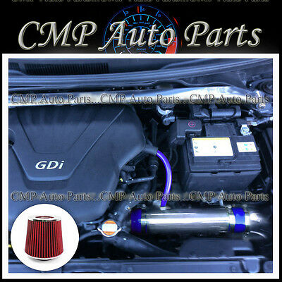 BLUE RED FIT 2011-2013 HYUNDAI VELOSTER ACCENT 1.6 1.6L GDI AIR INTAKE KIT