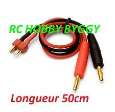 Cordon de charge Dean t plug OR ,connecteur,prise (chargeur,accu,Lipo,imax b6)
