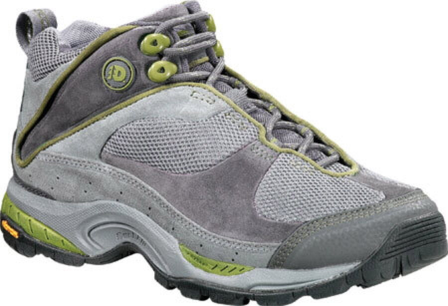 Dunham WOR712GR Fremont Mid Hiking Boot Gray/Green 7