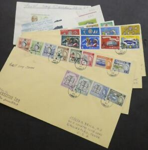 EDW1949SELL-JAMAICA-Collection-on-9-different-First-Day-covers