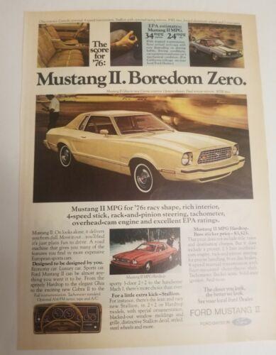 1960 70 Ford Mustang Torino Car Automobile  Ad Print Art 1.99 4.9 U PIck