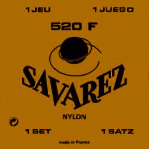 SAVAREZ-520-F-Rot-High-Tension-1-Satz-Konzertgitarren-Saiten