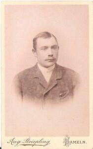 CDV-Foto-Herrenportrait-Hameln-1890er