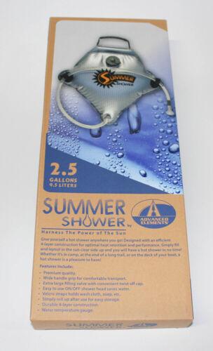 Advanced Elements Campingdusche Sommerdusche Solardusche 2.5 Gallon 9 Liter