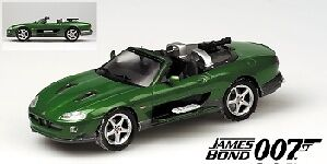 Jaguar Xkr Roadster vert 007 James Bond Die Another Day 1 43 Model MINICHAMPS