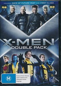Details about X-Men Double Pack 2-movies DVD NEW Days of Future Past First  Class Region 4