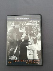 DVD-QUE-BELLO-ES-VIVIR-James-Stewart-Donna-Reed-Lionel-Barrymore-FRANK-CAPRA
