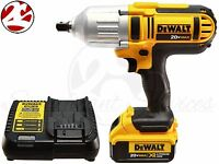 DEWALT DCF889M2 20V MAX Cordless XR Lithium-Ion 1 2-in High-Torque Impact Wrench Kit with Detent Pin Tools and Accessories
