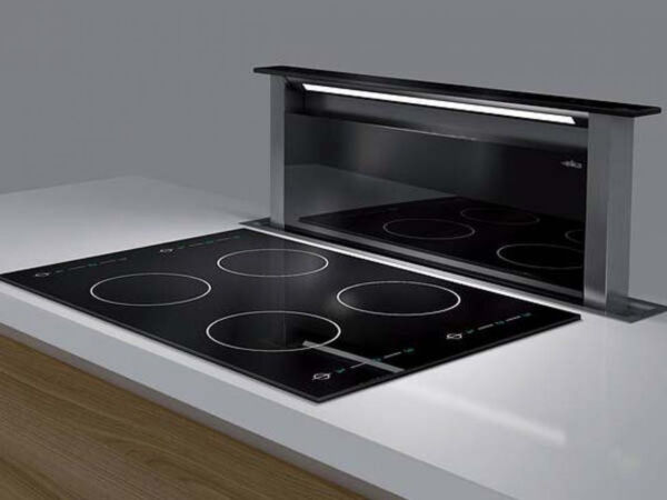 elica dunstabzugshaube adagio tischhaube 90 cm glas schwarz ebay. Black Bedroom Furniture Sets. Home Design Ideas
