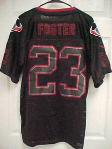 ARIAN FOSTER 23 Houston Texans Black Mesh Men Football Jersey 40  supplier