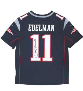 Details about Julian Edelman New England Patriots Signed Navy Nike Limited Jersey JSA