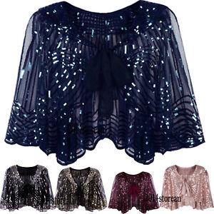 Evening-Shawl-Wraps-Jacket-Cape-1920s-Flapper-Long-Prom-Dresses-Accessories-Sets