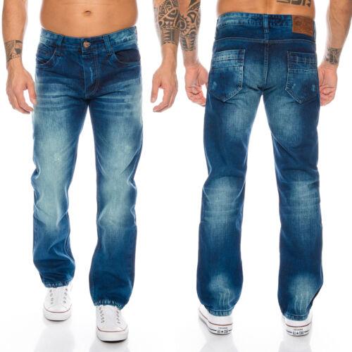 Rock-Creek calcetines para vaqueros cargo style Stone Washed Clubwear pantalones w30-w42 rc-2010