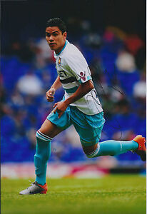 Pablo-BARRERA-SIGNED-COA-Autograph-12x8-Photo-AFTAL-West-Ham-United-Hammers-RARE