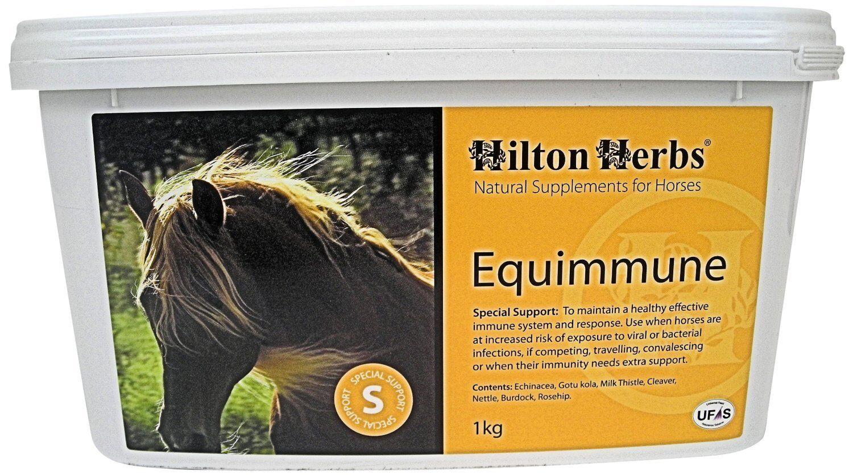 Hilton Herbs Equimmune 1kg Horse Supplement Supports Immune Function