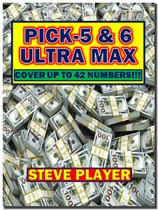 Details about Steve Player's Ultra Max Pick- 5 & 6 Winning Lottery Systems