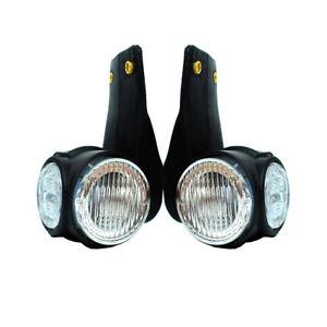 2x-Begrenzungsleuchten-E-Mark-24V-LED-Seitenmarkierung-LKW-Anhaenger-zum-Mercedes